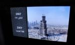 Chegada ao Observatório do Burj Khalifa